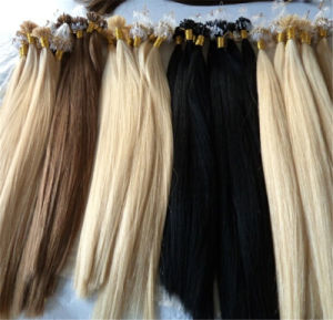 Brazilian Loop Micro Ring Hair Remy Human Hair Extension pictures & photos
