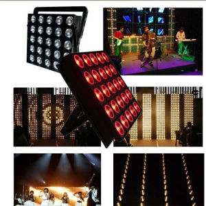 25 Pieces 9W LED Matrix Wash Party Stage Light pictures & photos