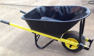 Heavy Duty Wheel Barrow with 100L Tray pictures & photos