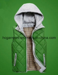 Fashion Jacket Outer Wear Winter Hoodie Waistcoat for Man pictures & photos