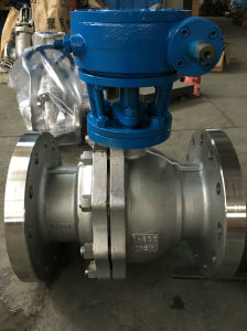 API Stainless Steel Soft Sealing Flange Ball Valve
