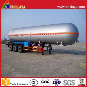 25 Tons LPG Tanker Semi Trailer Transport Bullet Tank pictures & photos