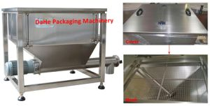 Horizontal Stainless Steel Screw Conveyor with Hopper pictures & photos