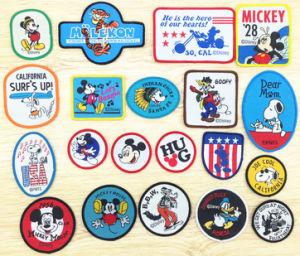 Cartoon Weaving Decoration Garments Labels pictures & photos