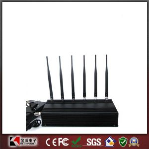6 Antenna Mobile Phone Jammer + WiFi + RF 315MHz/433MHz pictures & photos