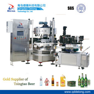 42000bph High Speed Rotary Hot Melt Labeling Machine
