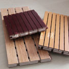 Wooden Composite Acoustic Panel (YZWC-009)