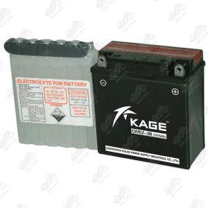 Motorcycle Battery (GM5Z-3B) 12V-5ah