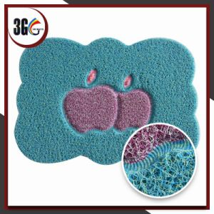 3G PVC Anti-Slip Backing Mat pictures & photos