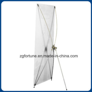 Desktop Stand Banner X Banner Stand for Advertising (aluminum pole) pictures & photos