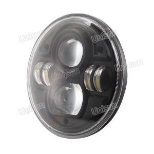 7inch 12V 24V 70watt Round CREE LED Headlight pictures & photos
