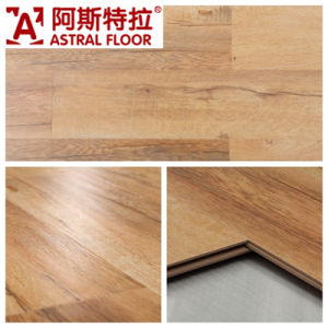 12mm Cheery Laminate Flooring /Handscraped Grain Laminate Flooring pictures & photos