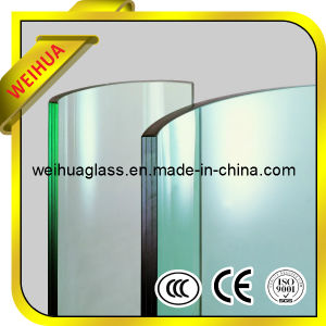 Safety Colored Bent Tempered Glass with CE / ISO9001 / CCC pictures & photos