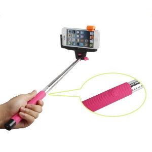 Selfie Stick with Bluetooth Shutter Button