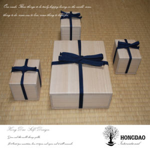 Hongdao Custom Christmas Wood Gift Packaging Box with Custom Logo Wholesale_D pictures & photos