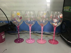 Handpaint Wine Glass for Birthday Gift pictures & photos
