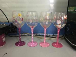 Handpaint Wine Glass for Birthday Gift