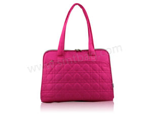 Red Handbag Laptop Shopping Bags (SW3105) pictures & photos