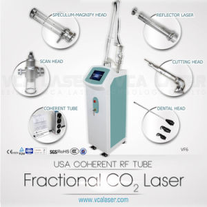 Newest 30W RF Fractional CO2 Laser for Surgical Scar Removal, Acne Scar Removal pictures & photos