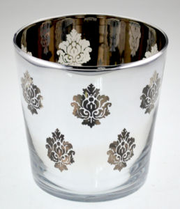 2015 Candle Holder with Flower Pattern pictures & photos