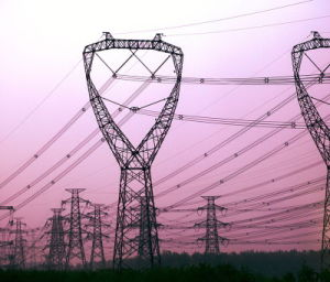 Overhead Electric Transmission Line Tower