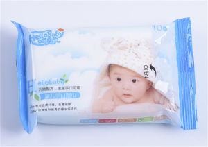 10 PCS High Quality Soft Cotton Non-Woven Baby Wet Wipe pictures & photos