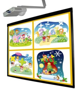 80inch Multi Touch Optical Imaging Interactive Whiteboard (HT-80MT)