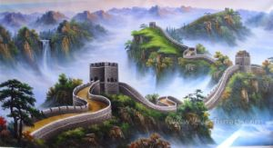 Decorative Oil Painting Landscape Canvas Art (ETL-029) pictures & photos