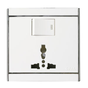 Ce/TUV Certified EU Standard Toughened Glass Wall Switch pictures & photos