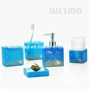 Polyresin Bathroom Set (WBP0807A) pictures & photos