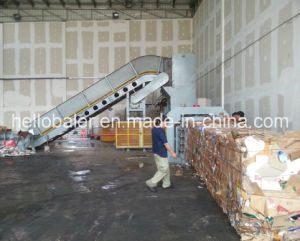 Hydraulic Kraft Paper Baler Machine From Hello Baler Company (HFA13-20) pictures & photos