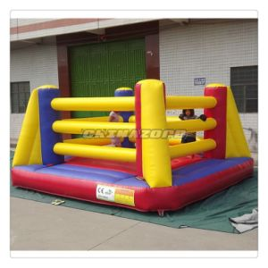 New Arrival Inflatable Squared Boxing Ring Bouncer with Customized Logo pictures & photos