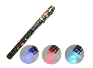 Egq-006 New Design Atomatic EGO Electronic Cigarette with Automatic Battery and Color Lights on The Bottom, Battery E CIGS