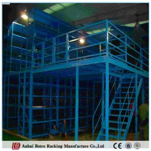 China Best Selling Powder-Coating and Heavy Duty Mezzanine Racking 500kgs Per Square pictures & photos