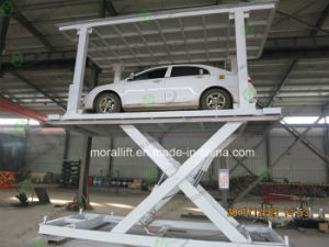 Hot Sale Hydraulic Scissor Car Lift for Garage pictures & photos