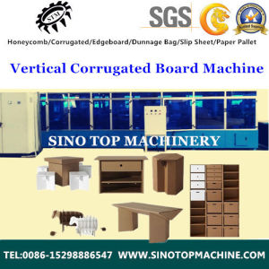 G Board Vertical Corrugationg Sheet Machine pictures & photos