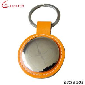 Simple Design Promotional Leather Keychain pictures & photos