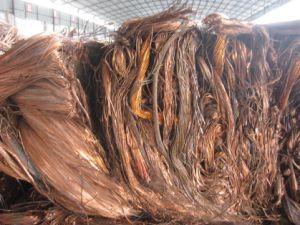 99.995% Copper Wire Scarp Price pictures & photos