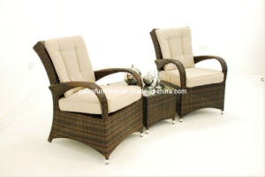 Garden Patio Wicker Outdoor Rattan Dining Set (PAD-1123) pictures & photos