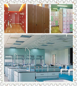 Wall HPL Wood Grain HPL White Color HPL Formica Sheet pictures & photos