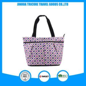 2017 Trendy Microfiber Ladis Bags Women′s Handbag pictures & photos