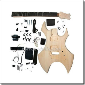 Unfinished DIY Electric Guitar Kits (EGH120-W) pictures & photos