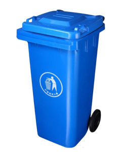 Plastic Bin Wheelie Outdoor Garbage Can (120L) pictures & photos