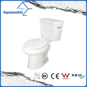 Siphonic Two Piece 1.28gpf Single Flush Elongated Toilet in White (ACT9048) pictures & photos