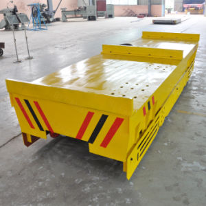 Mobile Cable Operated Electric Rail Trolley for Heavy Material Handling pictures & photos