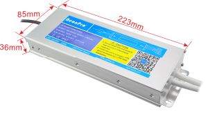 IP67 Slim Waterproof Switching Mode Power Supply with Ce pictures & photos