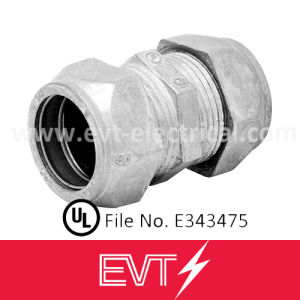 UL Listed Zinc Die Cast Electrical EMT Connector Compression Type pictures & photos
