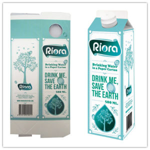 Laminated Aseptic Carton Box for Mini 500ml Juice/Milk/Wine/Cream/Water pictures & photos