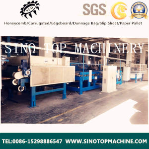 Cheap and High Speed Paper Honeycomb Board Production Making Line pictures & photos