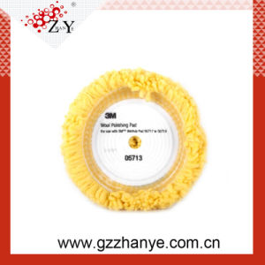 3m Original Single Sided Yellow Blended Wool Polishing Pad pictures & photos